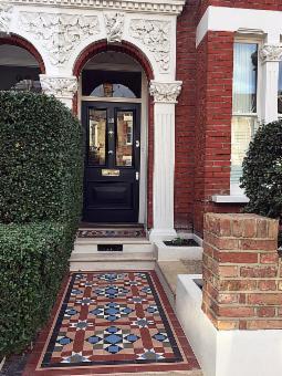 Garden Design Front Of House Entrance